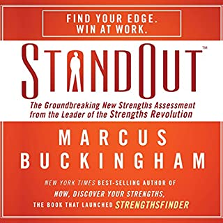 StandOut audiobook cover art