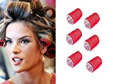 Used for all hair types Material:- Sponge And Plastic Very Convenient Hold And Locks Curls In Place Rollers Colour Will Be Send Randomly