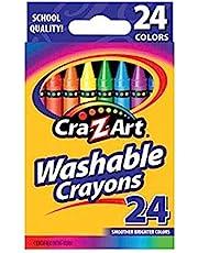 أقلام تلوين قابلة للغسل من كرا-زي-آرت، 24 قطعة