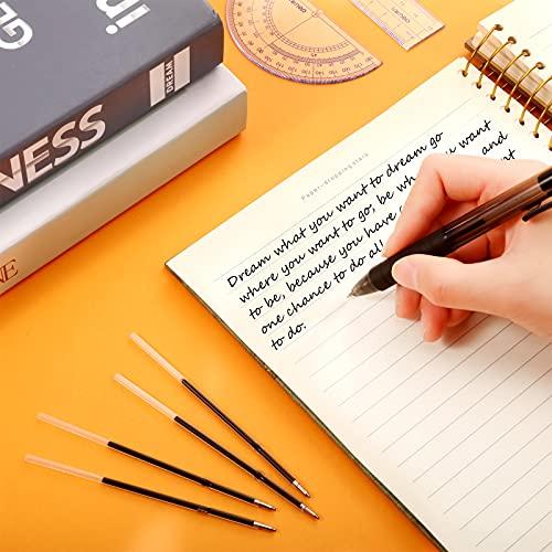Sepamoon Retractable Pen Refills 0.7mm Ballpoint Pen Refills Replacement Gel Ink Refills Blue and Black Ink Refills for Retractable Pens, Office School Supplies (60) Photo #3
