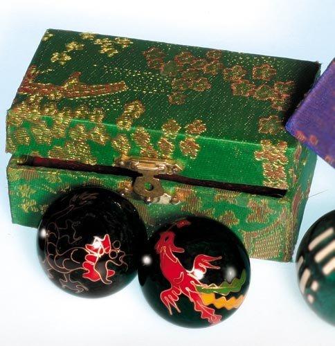 Meditations-Zubeöhr|Sonstiges - Qi Gong-Kugeln, Drache und Phoenix