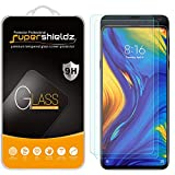 (2 Pack) Supershieldz Designed for Xiaomi Mi Mix 3 Tempered Glass Screen Protector, Anti Scratch, Bubble Free