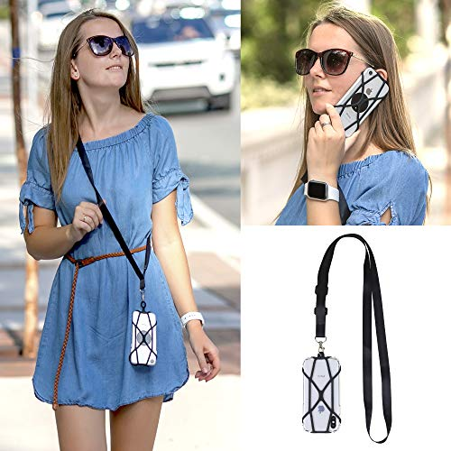 Gear Beast Universal Crossbody Cell Phone Lanyard Compatible with iPhone, Galaxy & Most Smartphones, Phone Case Holder & Cross Body Strap