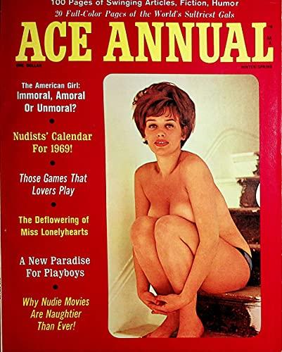 Ace Annual Men's Magazine Beverly / 1969 Nudist...
