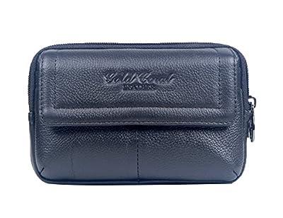 Genda 2Archer En cuir zippé porte-monnaie ceinture portable sac banane
