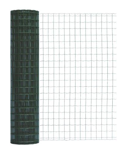 geschweites Clôture en treillis soudé Pantanet Family, Grn–RAL 6073, strke fil: 2,0/2,5mm, mailles: 101,6x 50,8mm, longueur 25m, 54194