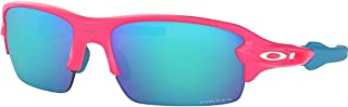 Oakley Boys OJ9005 Flak XS Rectangular Sunglasses, Neon...