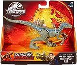 Jurassic World Ataque Salvaje, Velocirráptor azul, dinosaurio de juguete (Mattel GFG67)