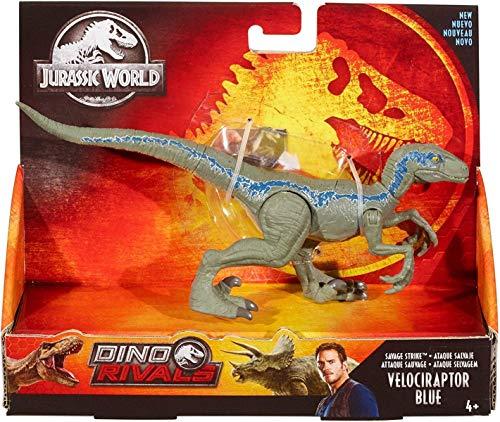 Jurassic World Ataque Salvaje, Velocirráptor azul, dinosaur