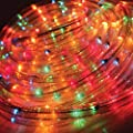 Christmas Workshop 10m Chaser Rope Light~ Indoor and Outdoor ~ Multi-Coloured ~ Christmas, Weddings & Gardens ~ 8 functions ~ 75640