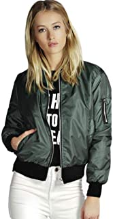 Women Jacket,Toimoth Women Short Biker Bomber Jacket Motorcycle Soft Zipper Quilted Jacket Coat