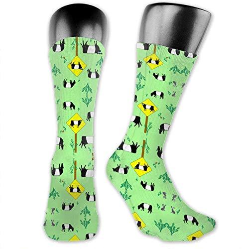 Compressie sokken snelweg patrouille koeien behang casual buis sokken jurk 30 Cm kalf sok comfortabele kleurrijke yoga partij zacht duurzaam voorraad