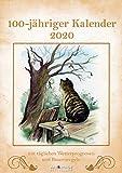 100-Jähriger Kalender 2020 A&I - Wandkalender A3 - 29,7x42cm - Naturkalender - Kalender mit Weisheiten - Bildkalender