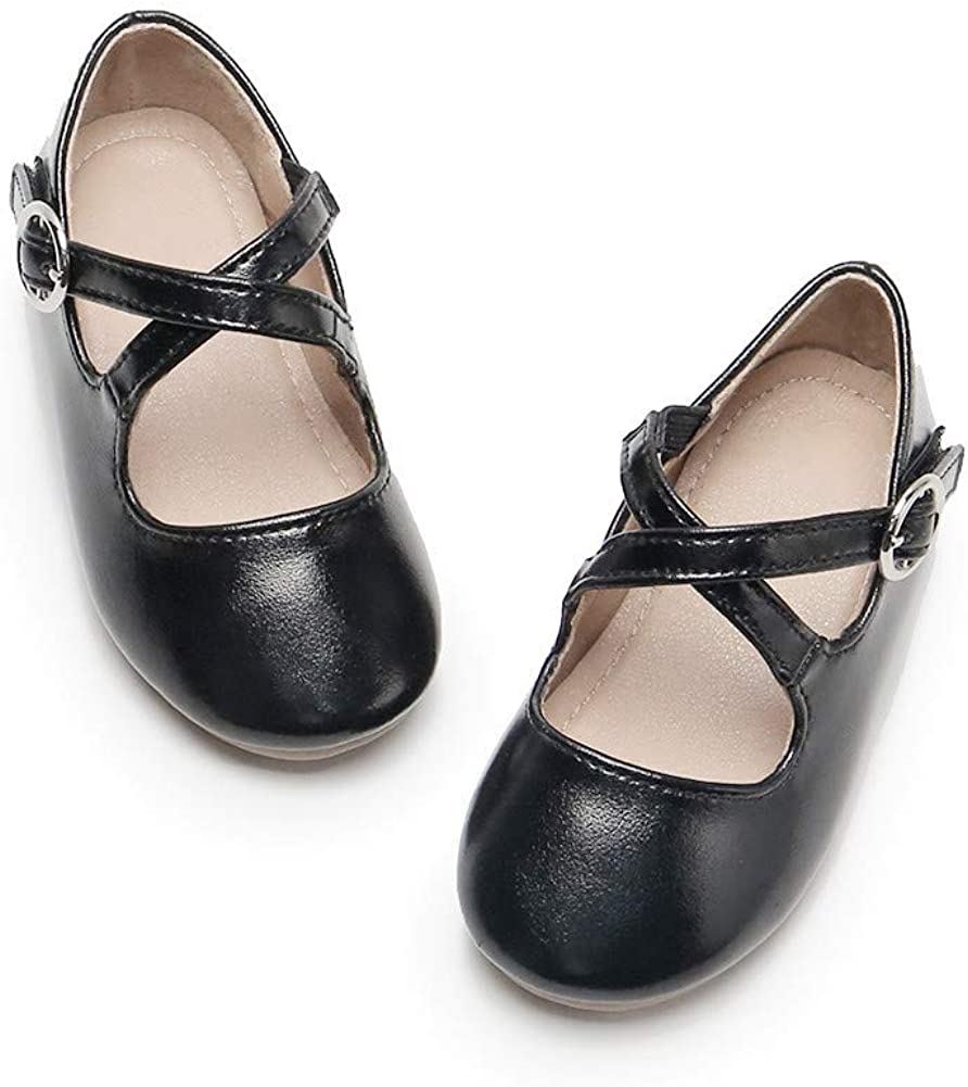 Sale special price Flaryzone Toddler Little Super sale period limited Girls' Princess Ballet Mary Flats Jane