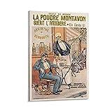 Montavon Hangover Powder Poster, dekoratives Gemälde,