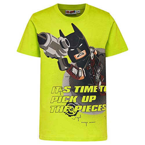 Lego Wear Lego Movie Batman Cm-50277-T-shirt T-Shirt, Verde (Green 850), 104 Bambino