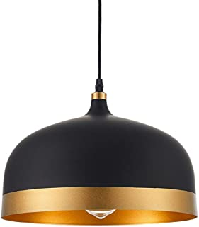 Angry peach Ohr Lighting Lisse Saturn Gold and Black Chandelier lampshade, Modern Interior Chandelier Decorative Lighting Chandelier