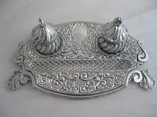 antique sterling silver desk set
