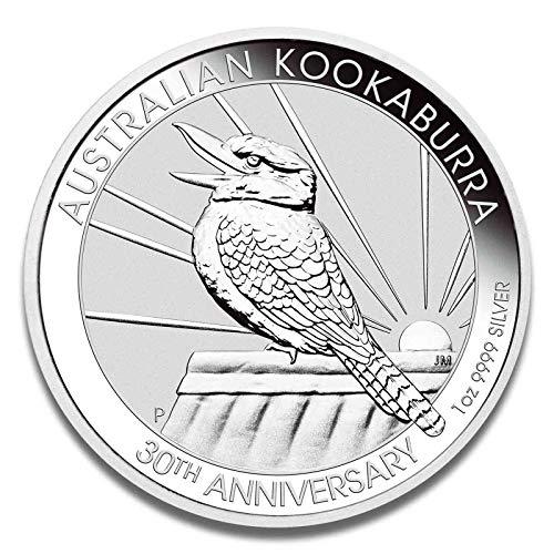 Silbermünze Kookaburra aus Australien - 999 Feinsilber - einzeln in Münzkapsel verpackt (1oz 2020)