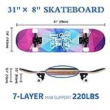 Zoom IMG-1 skateboard adulto 80x20cm soldow skate