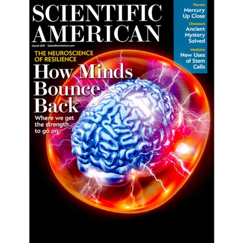 Scientific American, March 2011 audiobook cover art