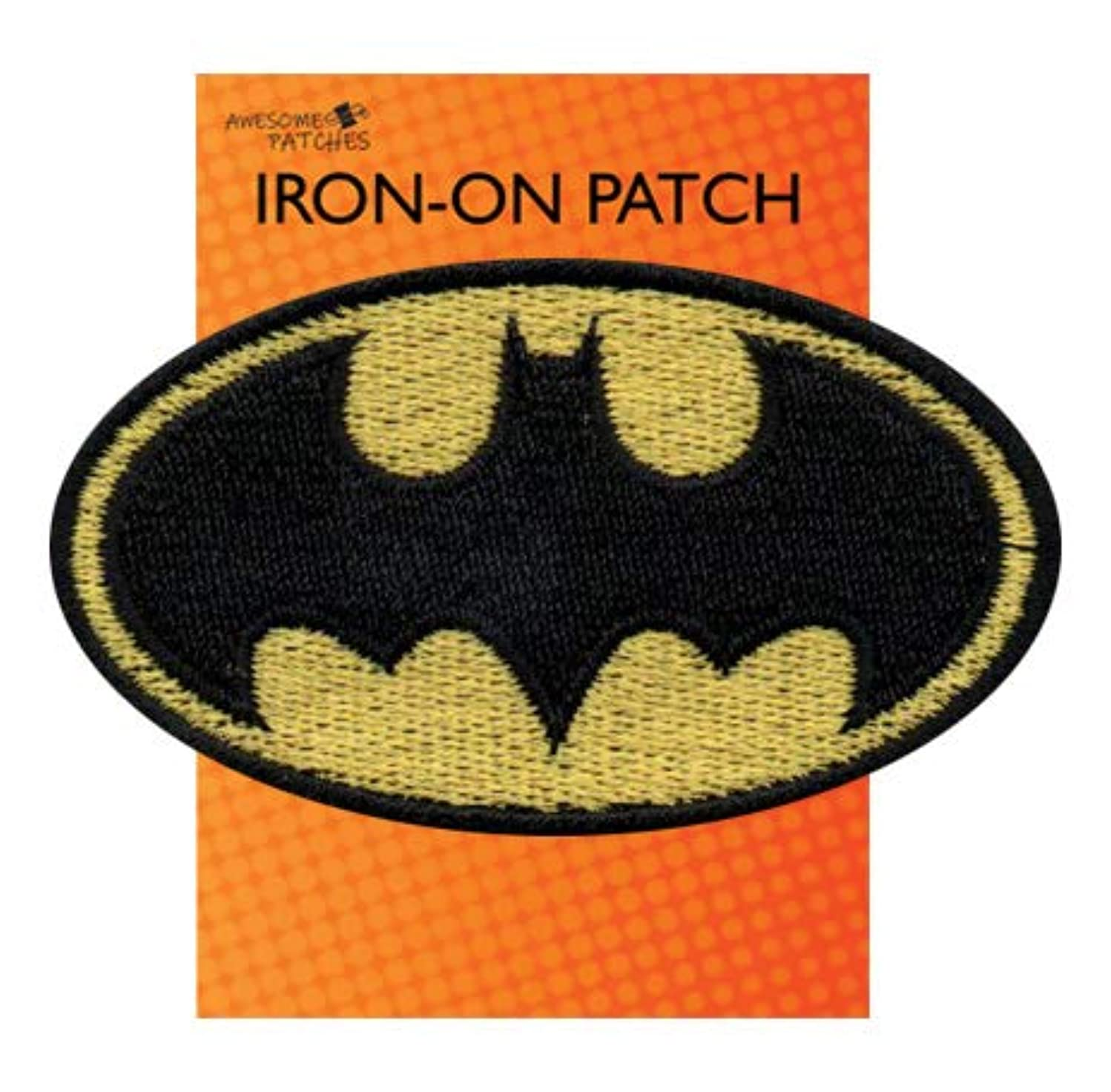 Batman Iron-on sew-on Patch Applique 100% Embroidery Superhero Justice League