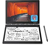 2019 Newest Lenovo Yoga Book C930 10.8' Dual-Display QHD 2560 x 1600 IPS & FHD 1920 x 1080 E Ink Mobius Touchscreen Light Weight Active Pen Intel Core i5-7Y54 Up to 3.2GHz 4G RAM 128G M2 SSD Grey