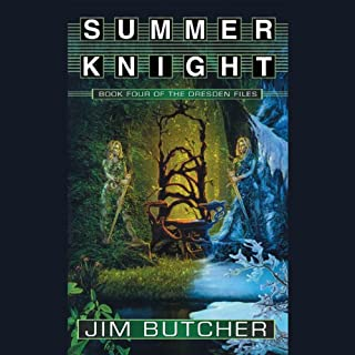 Summer Knight     The Dresden Files, Book 4              Written by:                                                                                                                                 Jim Butcher                               Narrated by:                                                                                                                                 James Marsters                      Length: 11 hrs and 13 mins     104 ratings     Overall 4.8