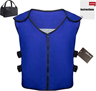 Summer Cooling Vest Icy Sport Vest with Ice packs and Insulated Bag for Teens Women and Men