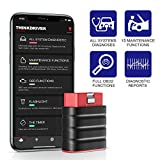 thinkcar ThinkDriver OBD2 Scanner Bluetooth Code Reader Check Engine Wireless Car Diagnostic Full System Car Diagnostic Tool for iOS&Android with 15 Maintenance Services