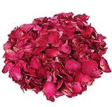 Rosen Blätter,100 Gramm Rosenblüten, blütenblätter hochzeit Seide Rosenblätter für Romantische...