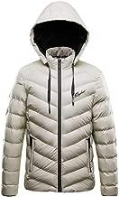 Men Casual Winter Outwear Tops Solid Warm Zipper Long Sleeve Hooded Jacket Coat