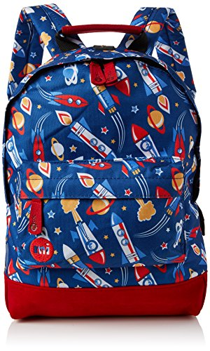 Mi-Pac Mini Backpack Print Mochila Tipo Casual, 33 cm, 10.5 litros, Space Blue