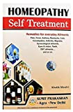 HOMEOPATHY SELF TREATMENT-REMEDIES FOR EVERYDAY AILMENTS