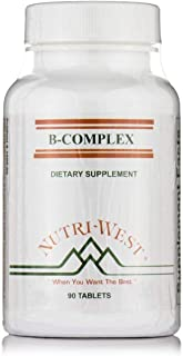 B-Complex - 90 Tablets by Nutri West