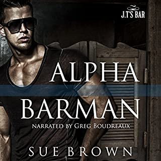 Alpha Barman audiobook cover art