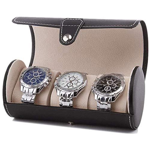 XZJJZ Joyero - Bolsa de Viaje Reloj de Almacenamiento portátil Caja de Botellas colección de Reloj Caja (Color : C)