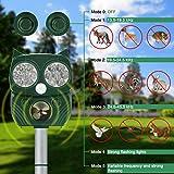 Zoom IMG-1 repellente gatti energia solare ultrasuoni