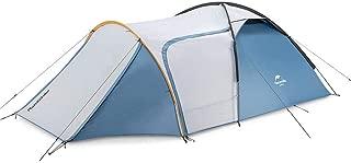 Naturehike テント 自転車旅行 2-3人用 超軽量 広い前室 タープスペース付き 二重層構造 アウトドア キャンプ 登山
