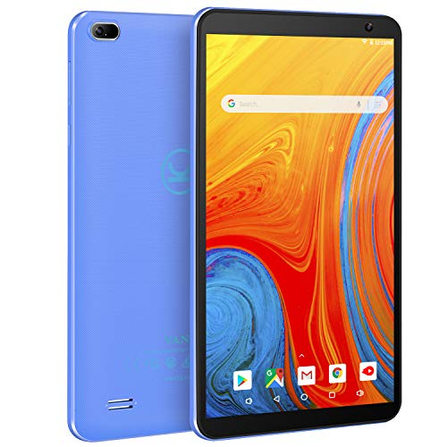 Vankyo MatrixPad Z1 7 inch Tablet, Android 8.1 Oreo Go Edition, 32GB Storage, Quad-Core Processor, IPS HD Display, Wi-Fi, Bluetooth, Blue