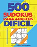 500 Sudokus Para Adultos Dificil: El Libro Rompecabezas - Juegos De Lógica Adultos