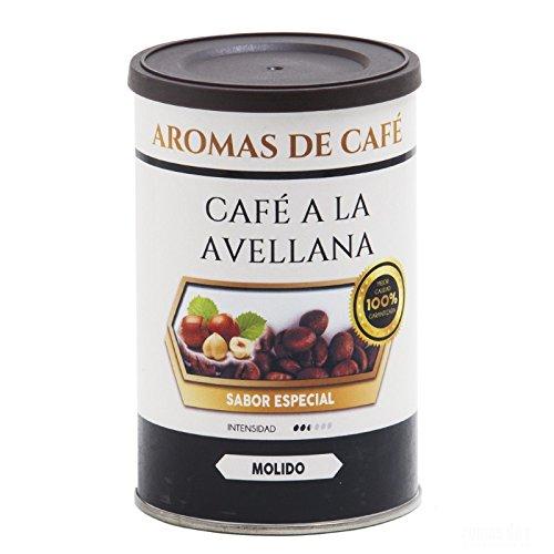 Aromas de Café - Café de Avellana 100% Arabica Molido/Café Molido Sabor Avellana...