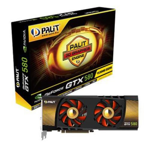 Palit XpertVision NVIDIA Geforce GTX580...