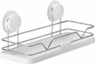 WANG YUE Estantes para la Ducha Caddy Organizers Aspiradoras de vacío - Acero Inoxidable Baño de champú Organizadores de Cocina Artículos de higiene Toiletry Storage Rack-White