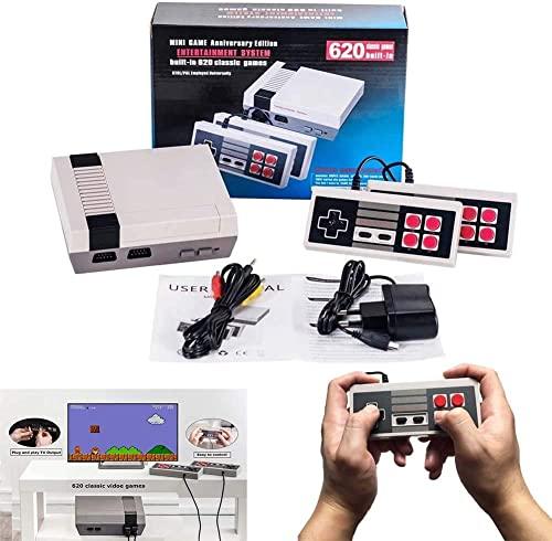 Retro Game Console HDMI HD Built-in 621 Classic Video Games, Retro Family...