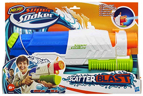 Super Soaker 0 Nerf A5832EU4-Scatter Blast Wasserpistole