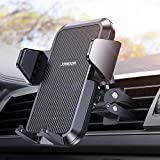 【Super Steady & Infinite View】CD Phone Holder for Car, Joyroom Phone Car Holder with 【360° Rotation】【1s Release & Clamp】 Phone Car Holder Fits iPhone 12 Mini/11/12Pro Max/11/XS/SE/8/7 Samsung and More