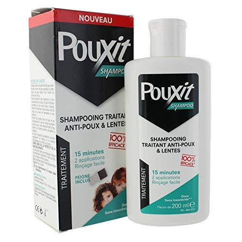 Pouxit Shampooing 200 ml + Peigne