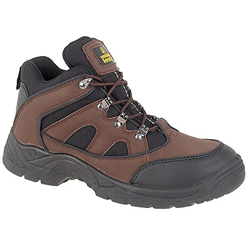 Amblers FS152 SB-P Mid Safety Boot Brown - 12