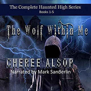 The Haunted High Series audiobook cover art